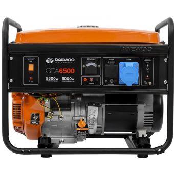 Бензиновый электрогенератор Daewoo GDA 6500